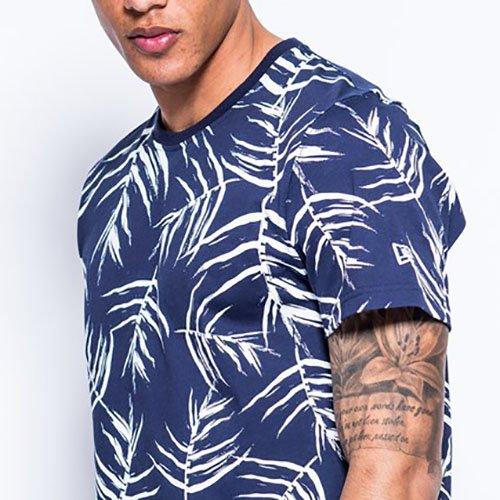 New Era Herren T-Shirt mehrfarbig Navy, White
