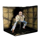 iron maiden eddie figure - NECA Iron Maiden Piece Of Mind Delux Figure with Diorama 1