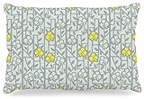 Kess InHouse Allison Beilke ''Deco Orchids'' Fleece Dog Bed, 30 by 40-Inch