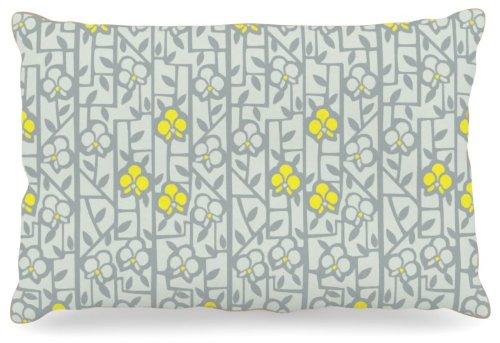 Kess InHouse Allison Beilke ''Deco Orchids'' Fleece Dog Bed, 30 by 40-Inch by Kess InHouse