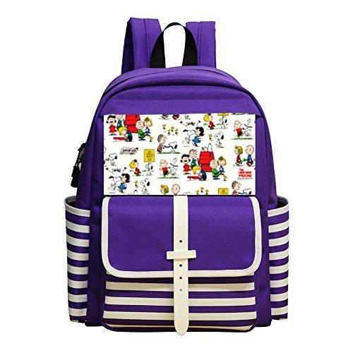 Multi-Functional School Travel Backpack Bookbag Bags with Snoo-py