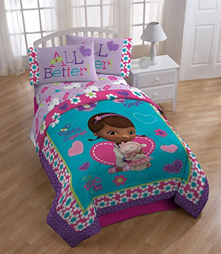Disney Doc McStuffins 4pc Set Twin Bedding