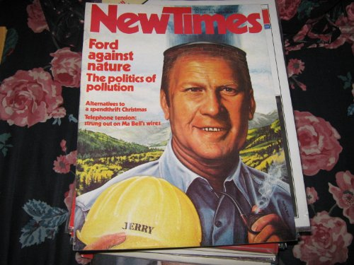 New Times Magazine , December 26 , 1975 , Jerry Ford