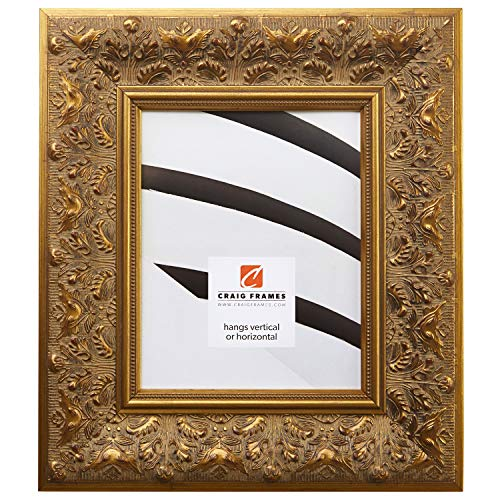 - Craig Frames 9472 20 by 30-Inch Picture Frame, Ornate Finish, 3.5-Inch Wide, Weathered Gold
