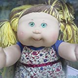 cpk Very Rare Brown and Blonde Streaked Hair Cabbage Patch Kids Doll (Jazlyn Lisa)