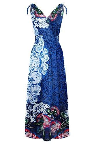 81ada9cbdc028 G2 Chic Women s Printed Patterned Long Maxi Dress(DRS-MAX