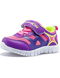 Boys Girls Toddlers Lightweight Breathable Strap Sneakers Casual Running Shoes Multiple Colors