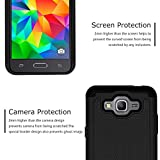 Galaxy J2 Prime Case, Drop Protection Hybrid Dual