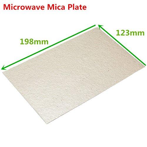 Yongse 198 x 123 mm Microondas Mica Placa Microondas ...