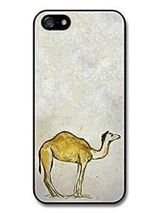 Camel Watercolour Animal Wildlife Original Art Illustration case for iPhone 5 5S T126 wangjiang maoyi by lolosakes