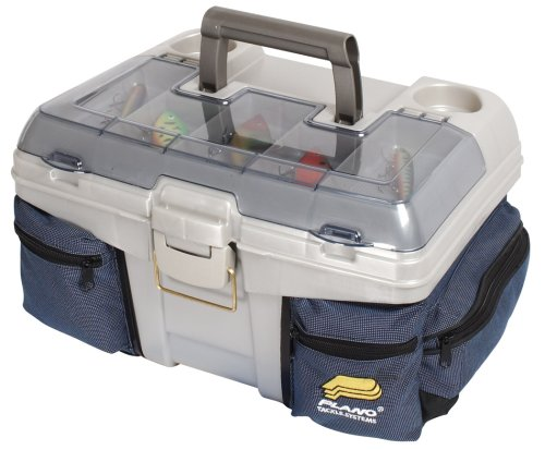 Plano Tackle Box with Chill Bag System (Blue/Silver), Outdoor Stuffs