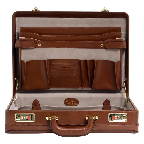Mcklein USA 80475 Harper , Leather 4.5'' Expandable Attached Briefcase by McKleinUSA (Image #1)