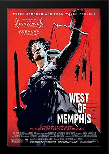 West of Memphis 28x36 Large Black Wood Framed Movie Poster Art - Galleria Memphis