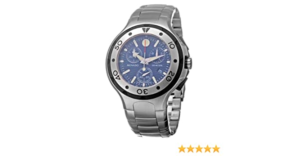 058728559 Amazon.com: Movado Men's 2600020 Series 800 Performance Chronograph  Stainless-Steel Watch: Watches