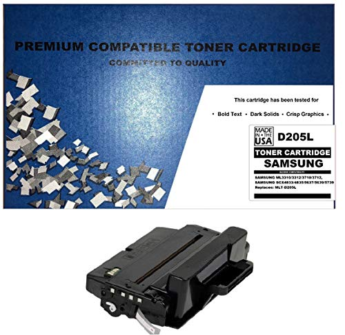 ALL CITY USA REMANUFACTURED Toner Cartridge Replacement for Samsung ML3310/3312/3710/3712/SCX4833/4835/5637/5639/5739 (Black)