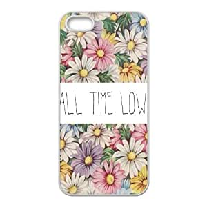 Hjqi - Personalized All Time Low Cell Phone Case, All Time Low Customized Case for iPhone 5,5G,5S