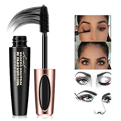 surenhap 4d Silk Fiber wimpern Mascara, densidad de agua Mascara Crema, ampliación fibra Lash