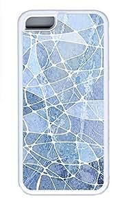 iPhone 5c Cases - Summer Unique Wholesale TPU White Cases Personalized Design Purple Marble