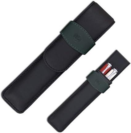 Pelikan 923417 - Estuche (piel), color negro: Amazon.es: Oficina y papelería
