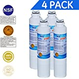 Icepure DA2900020B replacement refrigerator water filter For Samsung DA2900020B,DA2900020A,HAF-CIN(4-Pack)