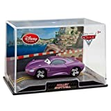 Disney Store Cars 2 Holly Shiftwell Die Cast in Collectors Case 1:43