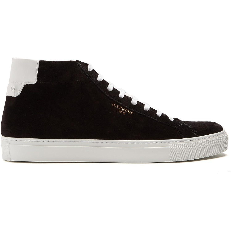 (ジバンシー) Givenchy メンズ シューズ靴 スニーカー Urban Street mid-top leather trainers [並行輸入品] B079GL9NMY