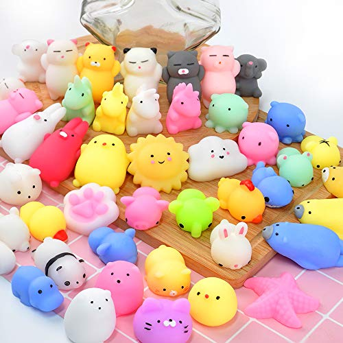 Mochi Squishy Toys ONLYO 40 PCS Random Mini Squishy for sale  Delivered anywhere in USA