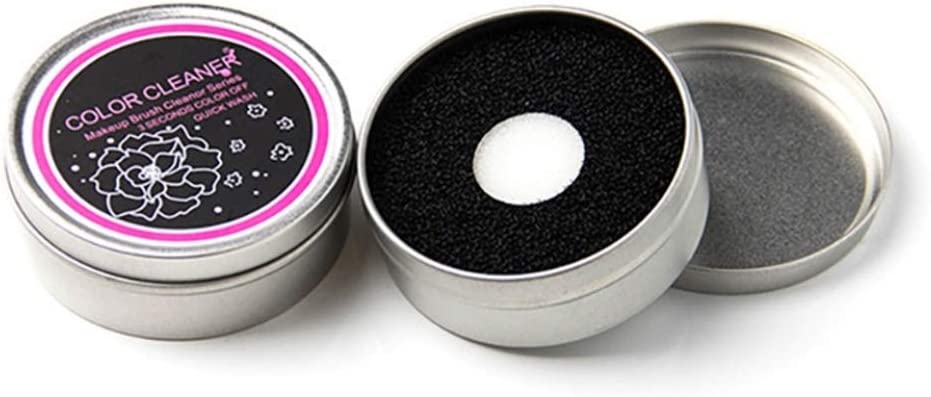 Zebulon Aled(k) Limpiador de brochas de maquillaje superior, caja ...