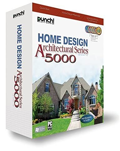 Amazon Com Punch Architectural Series 5000 V12 Old Version Software