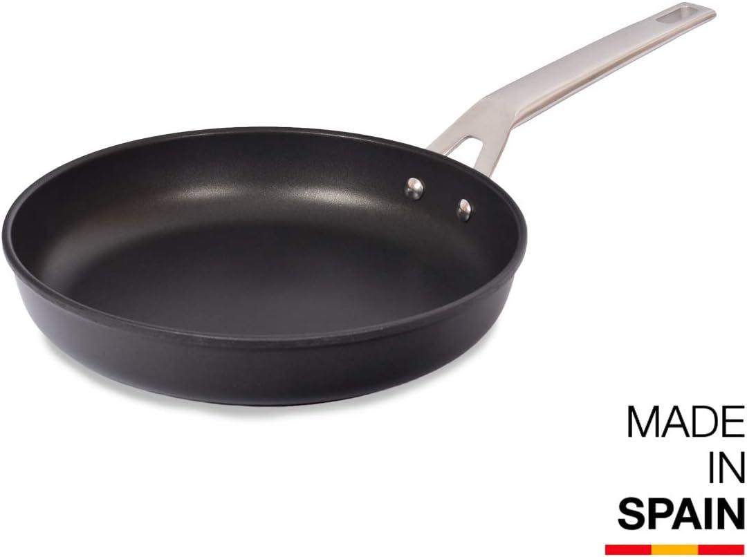 Valira Sarten Aluminio Ø 26 Aire, Acero, Negro, 26 cm: Amazon.es: Hogar