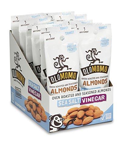 vinegar and salt almonds - 8