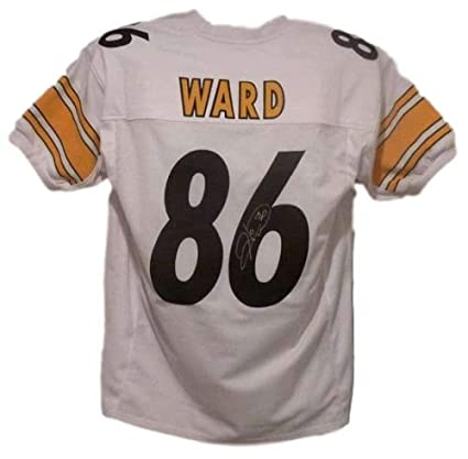 newest e1a69 f60b4 Signed Hines Ward Jersey - White XL 13714 - Autographed NFL ...