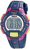 Timex Ironman - Reloj de pulsera (30 unidades, tamaño mediano), bloque de color azul/rosado, n/a