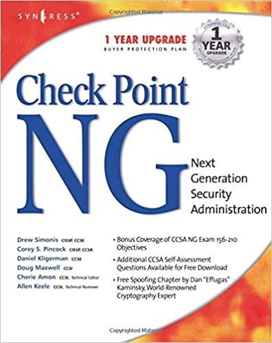 Check Point Next Generation Security Administration: Cherie