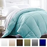 Beckham Hotel Collection 1600 Series - Lightweight - Luxury Goose Down Alternative Comforter - Hotel Quality Comforter and Hypoallergenic - King/ Cal King - Aqua