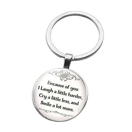 Best Friend Letters That Make You Cry.Amazon Com Underleaf Creative Friendship Letter Key Chain
