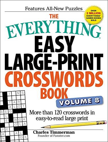 The Everything Easy Large-Print Crosswords Book, Volume 8: M