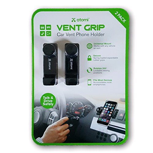 Click to buy Atomi VENT GRIP Car Vent Phone Holder 2 Pack - From only $24.95