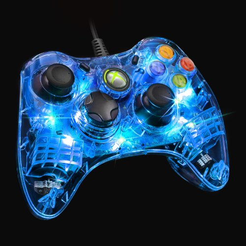 Xbox 360 Wired Controller Pc Blinking: Amazon.com: Afterglow Wired Controller for Xbox 360 - Blue: Video Gamesrh:amazon.com,Design