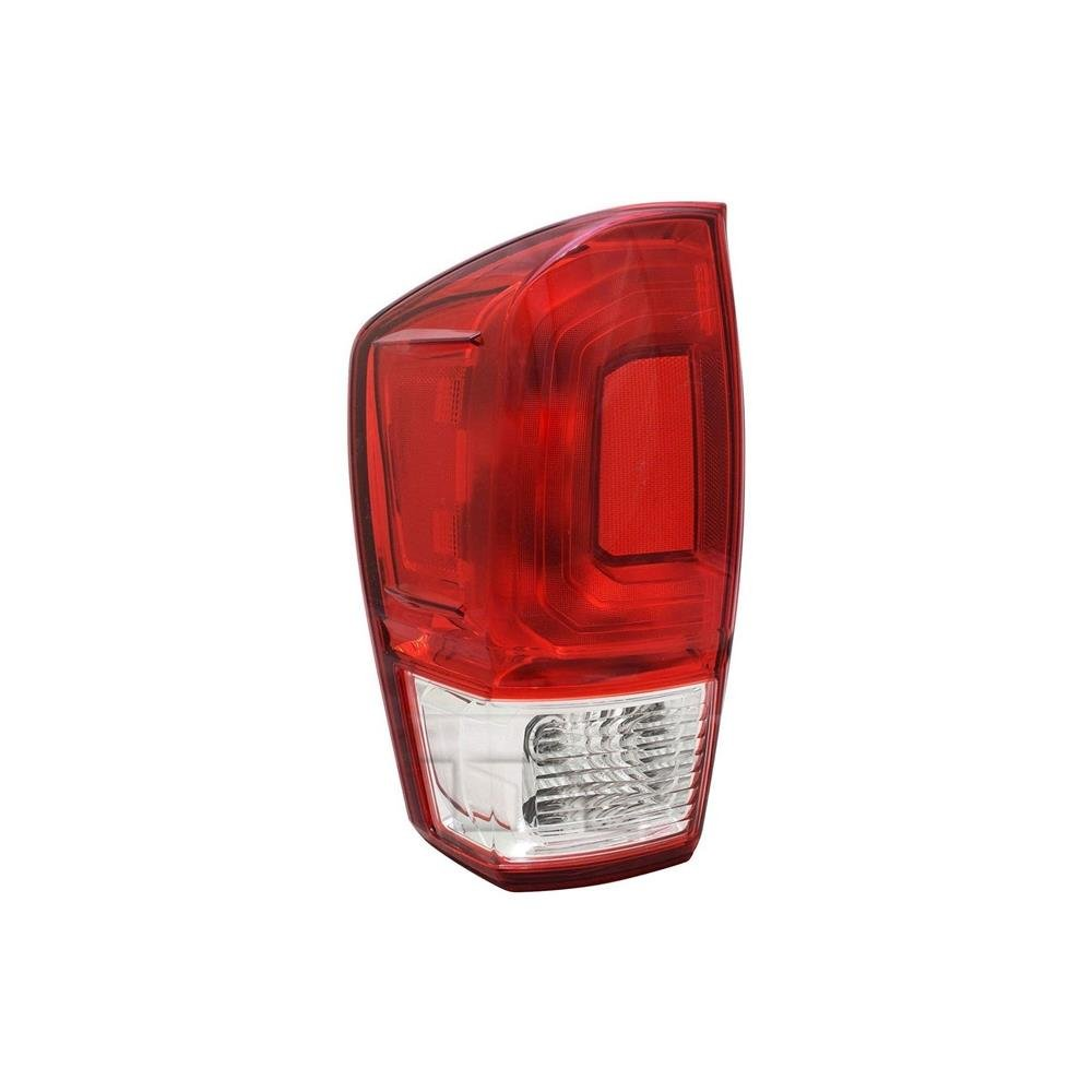 TYC 1 Pack 11-6850-00-1 Replacement Left Tail Lamp for Toyota Tacoma
