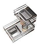 Rev-A-Shelf - 5WB2-2122-CR - 21 in. W x 22 in. D Base Cabinet Pull-Out Chrome 2-Tier Wire Basket