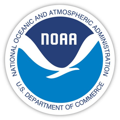 """NOAA National Oceanic and Atmospheric Administration sticker decal 4"""" X 4"""""""