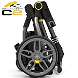'NEW 2017' POWAKADDY C2 COMPACT GOLF TROLLEY +EXTENDED 36 HOLE LITHIUM BATTERY