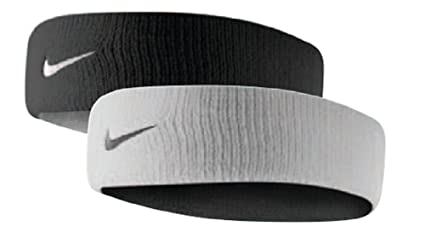 Buy NIKE Dri-Fit Home Away Reversible Headband White Black Online at ... 90777c3f97c