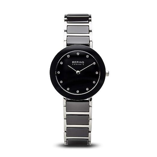 BERING Reloj Analógico para Mujer de Cuarzo con Correa en Acero Inoxidable 11429-742: Amazon.es: Relojes