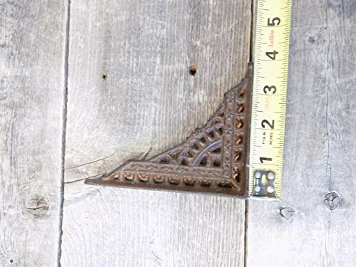 4 Antique Style Shelf Brace Wall Bracket Cast Iron Brackets Small 5 x 4 Corbels