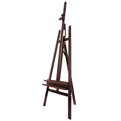 Amazon.com: SoHo Urban Artist Lyre Wooden A-Frame Art Easel Floor ...