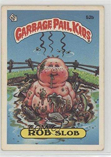 Rob Slob (Two Star Back) (Trading Card) 1985 Topps Garbage Pail Kids Series 2 - [Base] #52b.2 ()