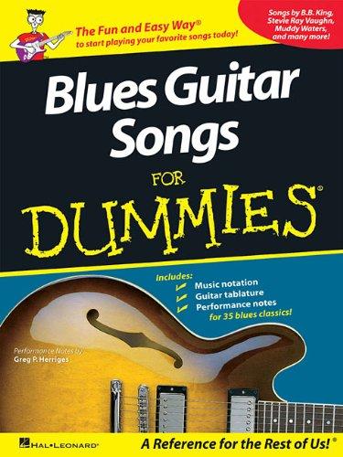 Blues Guitar Songs For Dummies ebook