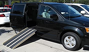 Travel Ramp Mini Van Five Feet Folding Door Opening, 28 Inch, 32 Pound